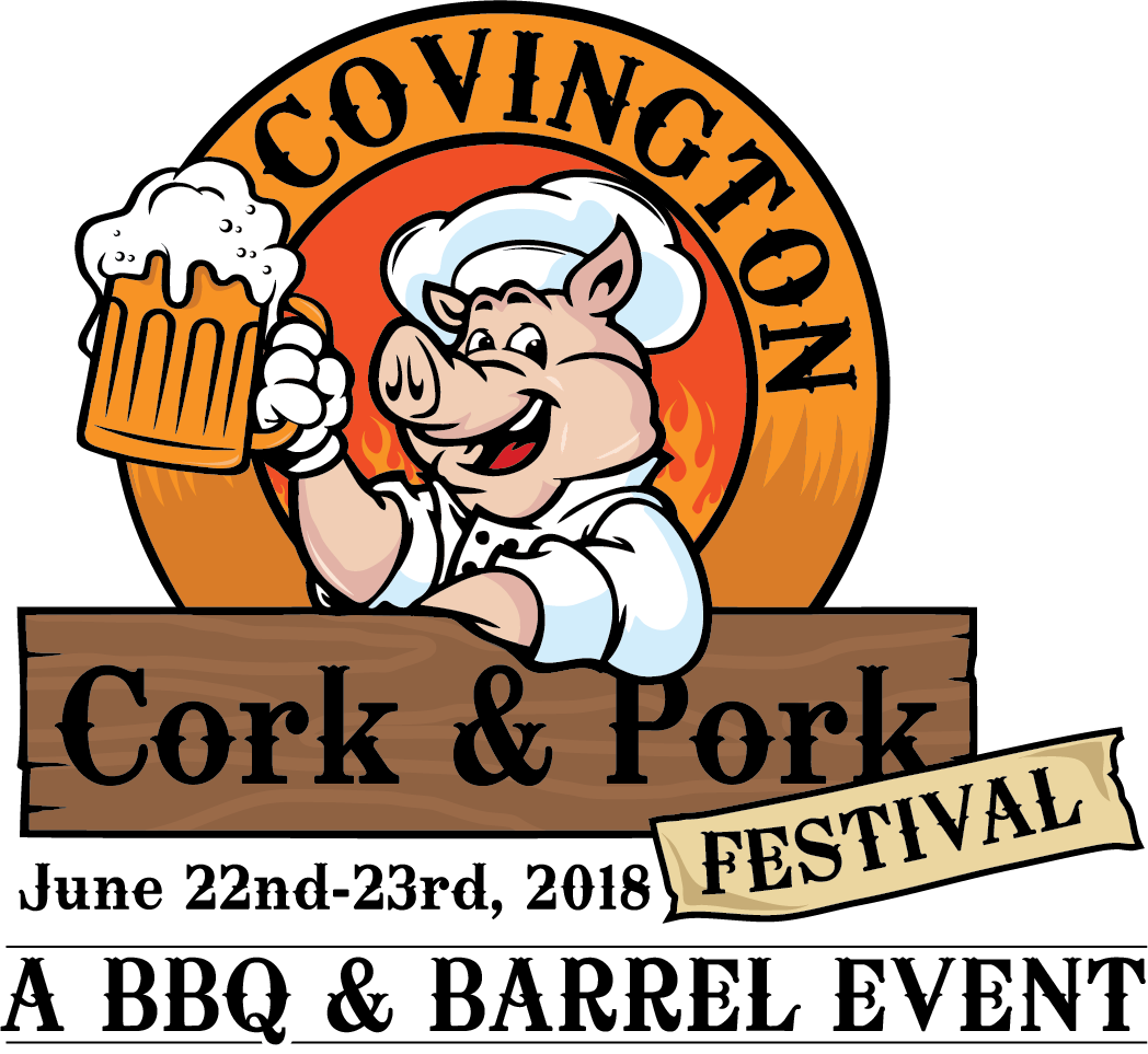 Cork and Pork Logo